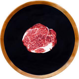 神泽 新西兰M5嫩肩牛排 200g 2-3片 23.9元