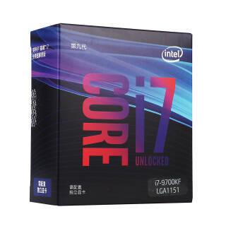 英特尔(intel) Core 酷睿 i7-9700KF 处理器 2649元