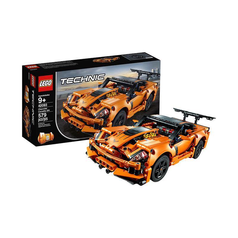 ¥239.04 LEGO 乐高 Technic 机械组系列 雪佛兰跑车 42093 9岁+ 579颗