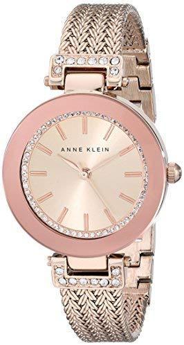 Anne Klein 安妮·克莱因 AK/1906RGRG 女士玫瑰金手表 含税到手¥236.41