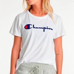 【季末大促】Champion 冠军 女子复古短袖T恤