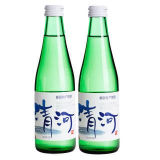 韩国进口 乐天(Lotte)清河清酒 发酵酒 两瓶装 300ML*2瓶 *3件 88.8元(合29.6元/件)