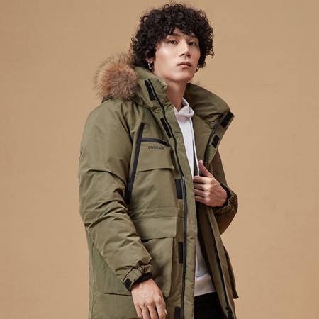 21日0点、双11预售:LI-NING 李宁 AYMP207男子羽绒服 299元(限前100件) ¥299