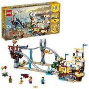 LEGO乐高 Creator创意百变系列31084 三合一海盗过山车 $55.99(约399.45元)'