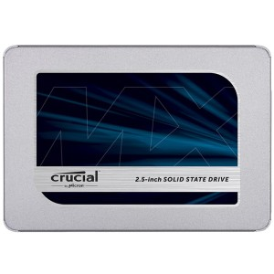 crucial 英睿达 MX500 SATA3 固态硬盘 500GB 389元包邮