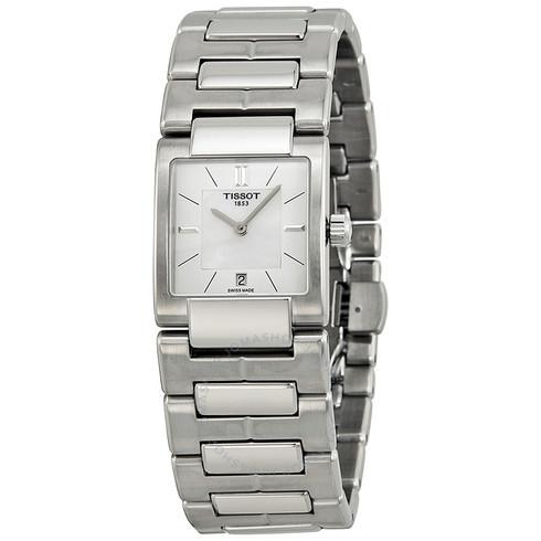 折合874.65元 Tissot 天梭 T2 系列银色女士腕表