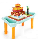 Simbable kidz 仙邦宝贝 多功能积木桌+300小颗粒积 39.9元包邮