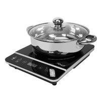 $34.99(原价$49.99)史低价:Rosewill 1800W 电磁炉+不锈钢锅 带锅盖 非编程版