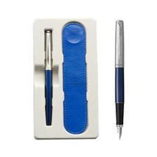派克(PARKER) Jotter乔特系列 国博联名款 蓝杆白夹钢笔 *3件 634元(合211.33元