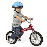 $42.49(原价$69.99) 充气轮胎抗震佳 Radio Flyer Glide N Go 儿童平衡自行车 红色