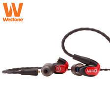 618预告、历史低价:Westone 威士顿 W40 四动铁单元 入耳式耳机 1799元包邮(需