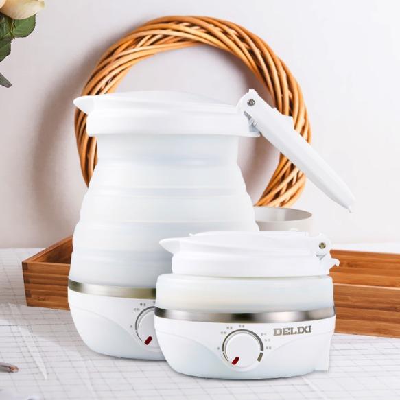 ¥84 德力西折叠式旅行电热水壶保温一体烧水壶