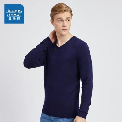 JEANSWEST 真维斯 男士针织衫 33.8元包邮