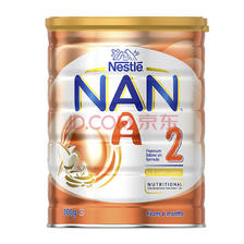 ¥434 Nestle 超级能恩 A2 婴儿配方奶粉 2段 800g