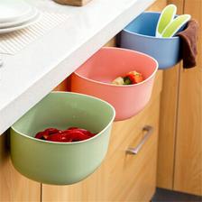 MOYOU 魔友 厨房挂式垃圾桶 17.8*21*9cm 3个装 12.9元包邮(需用券) ¥13