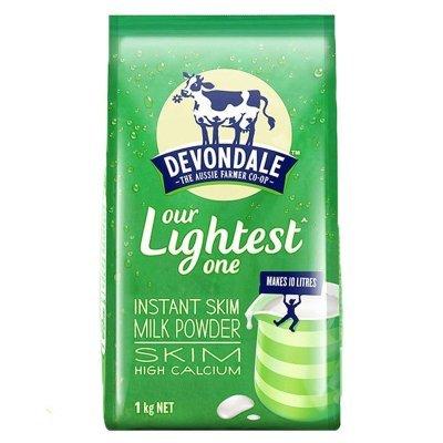 ¥45.8 德运 高钙脱脂牛奶粉1KG