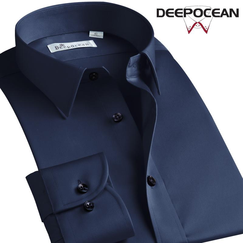 降10元、免烫抗皱!日本 DeepOcean 深海 男士 长袖衬衫 券后128元包邮(之前推荐138元)