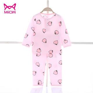 猫人(Miiow) 宝宝保暖内衣套装 *3件 66元(合22元/件)