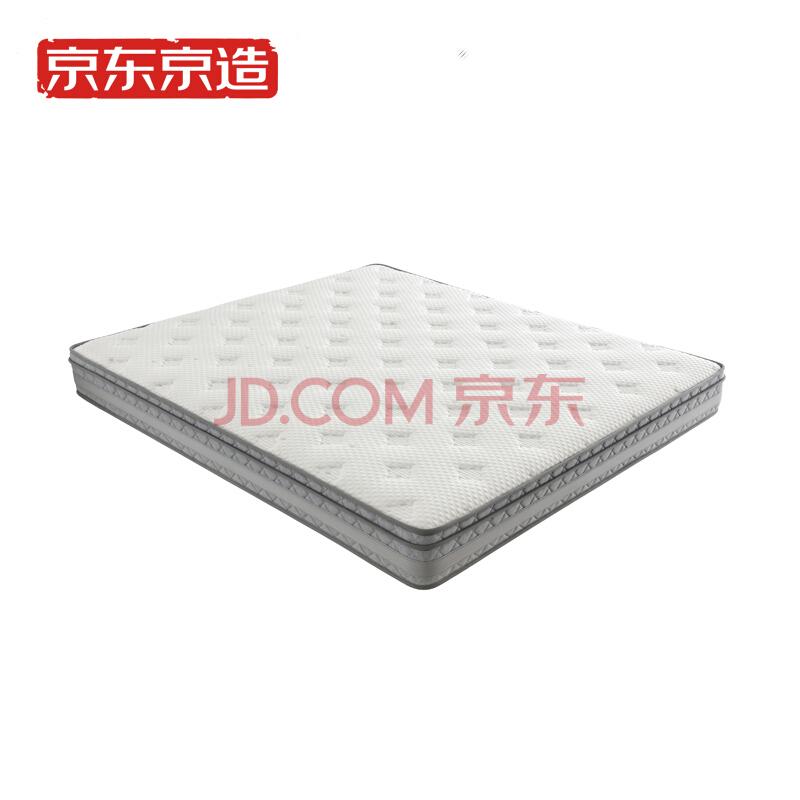 京造 乳胶3D弹簧床垫 180*200cm 1899元包邮(双重优惠)