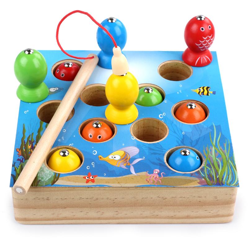 宝宝钓鱼玩具磁性套装  券后29.8元