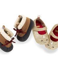 包邮 宝宝保暖靴$7.5 Carter's官网 儿童鞋履3.75折封顶两日闪购