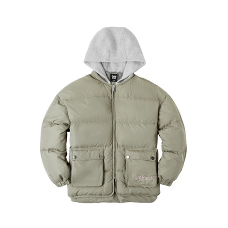 Lee 2019AW宽松版型 棉服 促销价1439