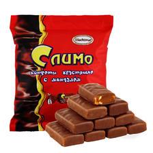 俄罗斯进口红皮糖500g紫皮糖巧克力夹心糖果零食散装喜糖扁桃仁糖  券后16.8