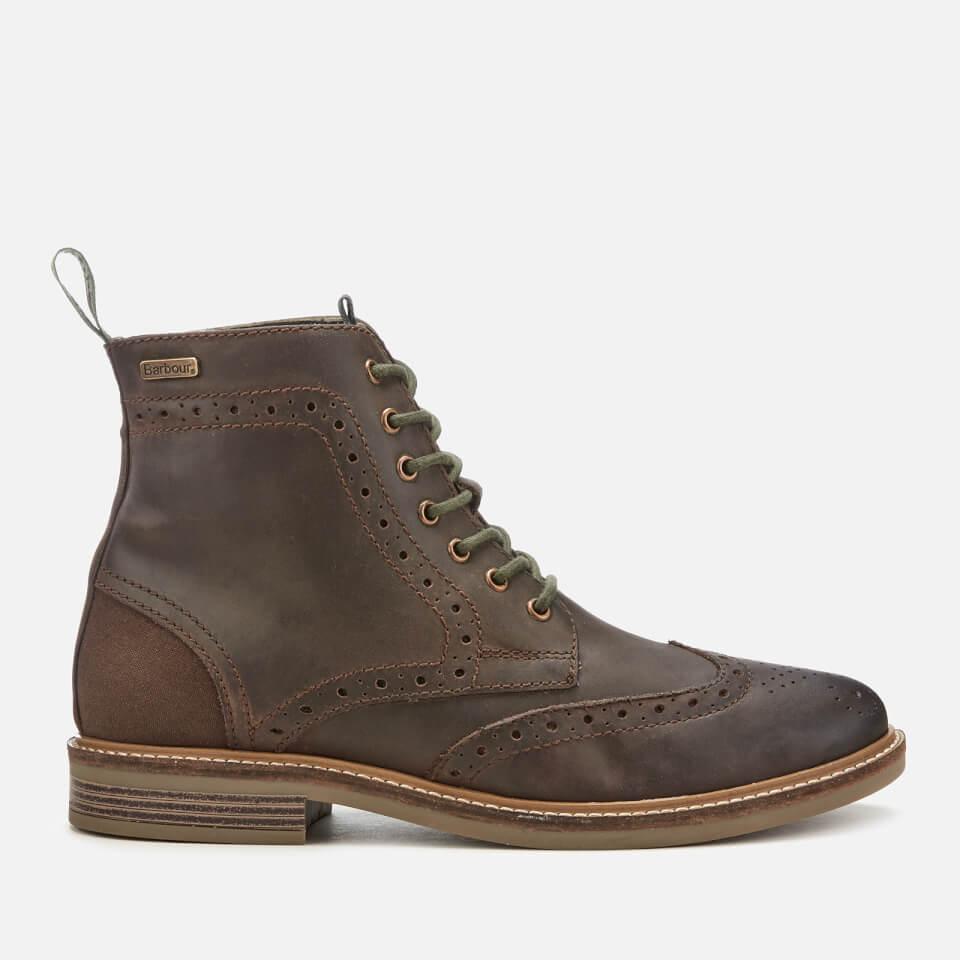 折合947.7元 Barbour Belsay 男款布洛克高帮靴