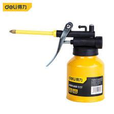 得力(deli) 金属机油壶润滑油机油枪金属长嘴高压尖嘴手动注油壶加油壶180ml