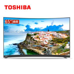 TOSHIBA 东芝 65U6780C 65英寸 4K 曲面 液晶电视 低至3499元包邮