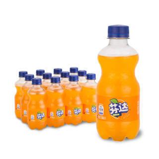 限地区:芬达 Fanta 橙味 汽水 碳酸饮料 300ml*12瓶 *3件 52.36元(需用券,合17.45元/件)