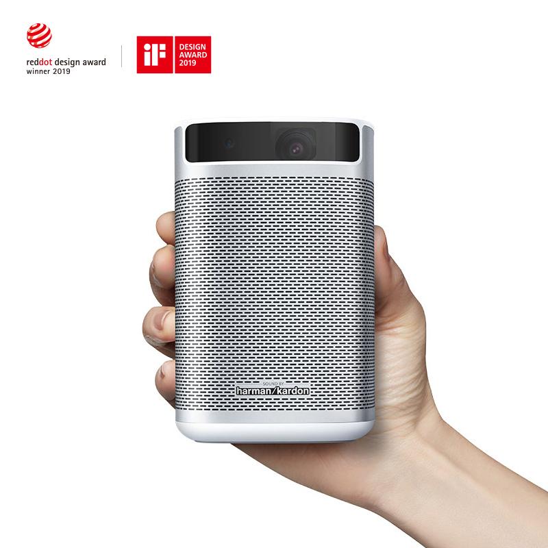 极米无屏电视Play 便携式新品手机智能投影仪微型高清无线wifi家用小型投影机 1999元