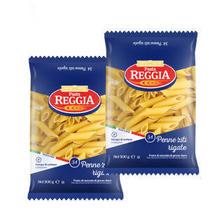 意大利进口 瑞杰(Reggia)意大利面34#斜管意粉组合 500g*2袋装 6.65元