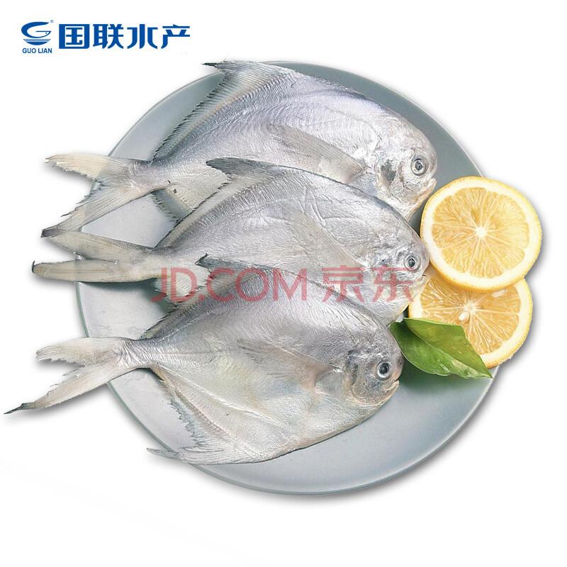 ¥15.9 国联 冷冻东海白鲳鱼 600g 5-8条