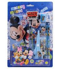 Disney 迪士尼 DM0043 文具套装 蓝/粉色 4.8元包邮(需用券)