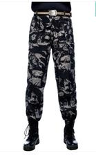 ¥5.1 勃托顿 迷彩工装裤 数码/黑鹰配色 165-190码
