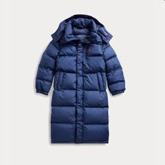 【双11】Ralph Lauren 拉夫劳伦 Down Hooded Coat 8-20岁 长款羽绒服