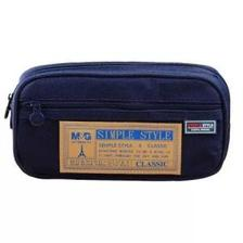 M&G 晨光 APB93598 多功能笔袋 蓝色 7.5元