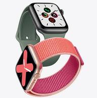 5代新品、20点开始:Apple 苹果 Apple Watch Series 5 智能手表 GPS款 44mm 2999元包邮