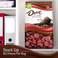 $16.14 一颗只需$0.11 Dove Promises 圣诞节巧克力家庭装 43.07oz 150颗