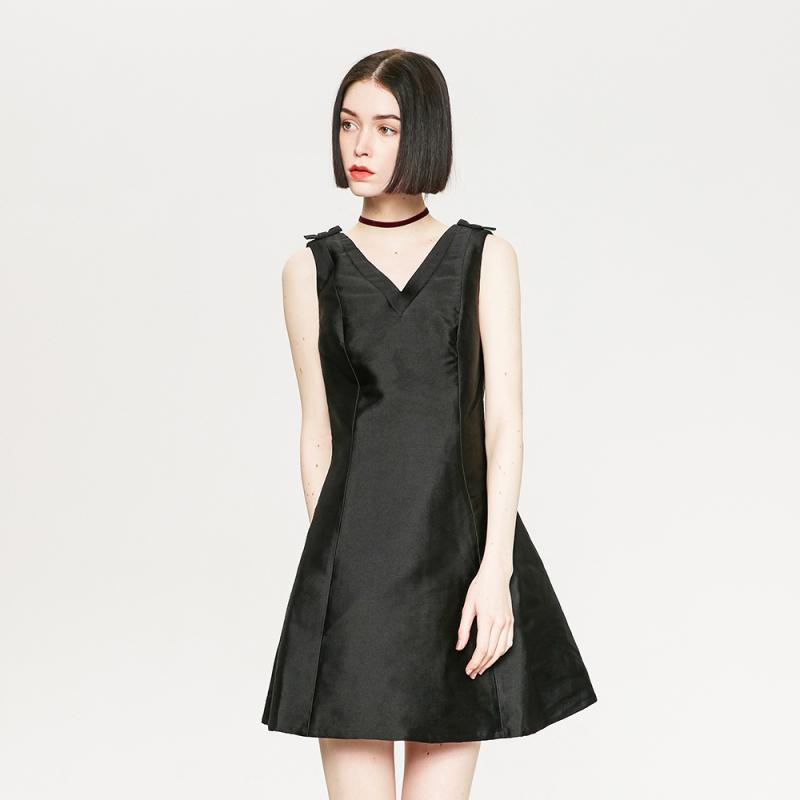ME&CITY 544047 女士小香风连衣裙59.7元包邮