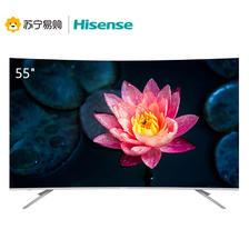 Hisense 海信 HZ55E6AC 55英寸4K曲面全面屏液晶电视 3299元包邮