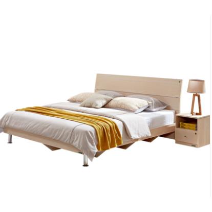 QuanU 全友 106302 床+床头柜*2+床垫+四门衣柜 1500元包邮(前350名) ¥1500