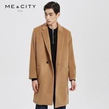 ME&CITY 539300 男士中长款毛呢大衣 低至268.64元(3件1.6折)