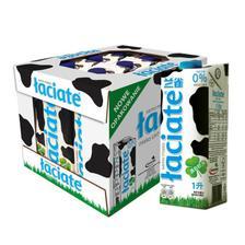 兰雀 经典系列 脱脂纯牛奶 早餐奶 1L*12盒 *2件 128.4元包邮