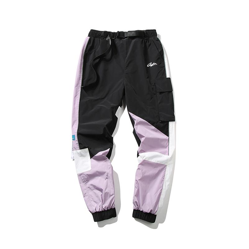 Guuka 撞色拼接束脚工装裤 优惠价288