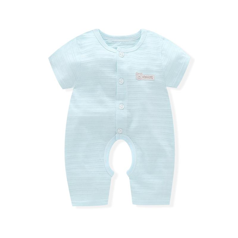 21日21点:泰熊乐园 婴儿薄款连体衣 *2件 20.8元包邮(前5000名,合10.4元/件)