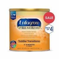 4罐装¥363 美赞臣 过渡阶段婴幼儿2段配方奶粉 567g
