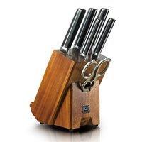 $127.34 (原价$159.18) 新品上市 Hanmaster 红点系列高碳锻造7件套刀具套装