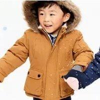 滑雪服+连体裤$40 (原$100) Carter's官网 儿童秋冬外套3.2折起热卖,最大14岁